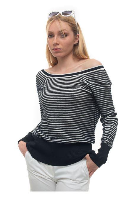 Omogeneo Cotton cardigan Pennyblack | 39 | OMOGENEO-2762