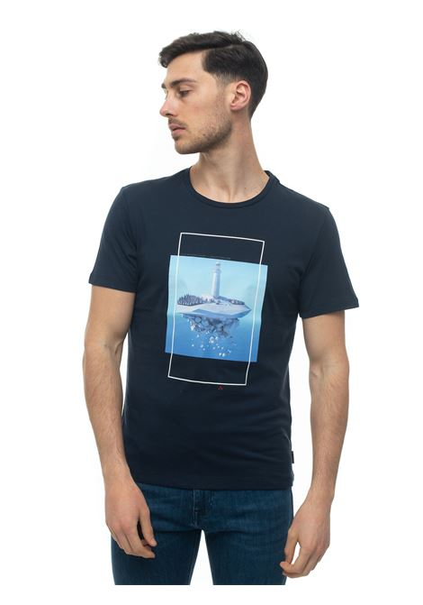 Andros Round-necked T-shirt Peuterey | 8 | ANDROS_ICY02-PEU3518-99012021215