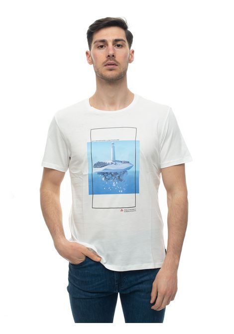 Andros Round-necked T-shirt Peuterey | 8 | ANDROS_ICY02-PEU3518-99012021BIA
