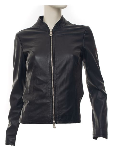 Leather harrington jacket Peuterey | -276790253 | LOVER_WS04-PED3560215