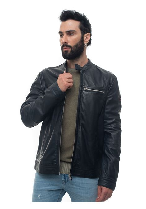 Saguaro leather harrington jacket Peuterey | -276790253 | SAGUARO_WS06-PEU3505-99011855215