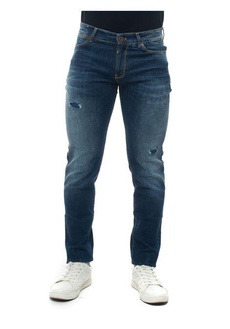5 pocket Jeans with cuttings PT05 | 24 | C5DJ25Z50DES-TX15MS74