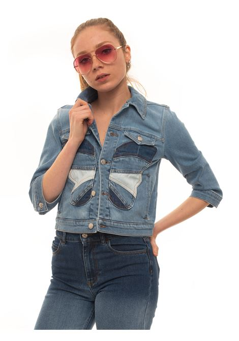 Denim harrington jacket Red Valentino | -276790253 | TR0DC00W-546LDM