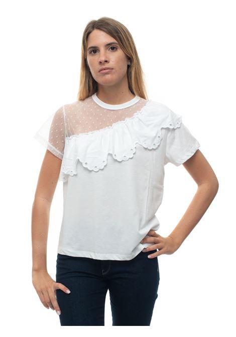 T-shirt girocollo mezza manica Red Valentino | 8 | TR0MG05T-5500BO