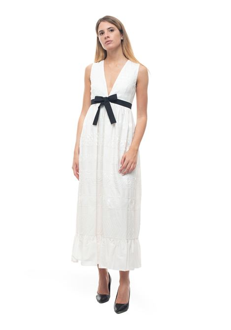 Sleeveless maxi dress Red Valentino | 130000002 | TR0VA11R-51Q031