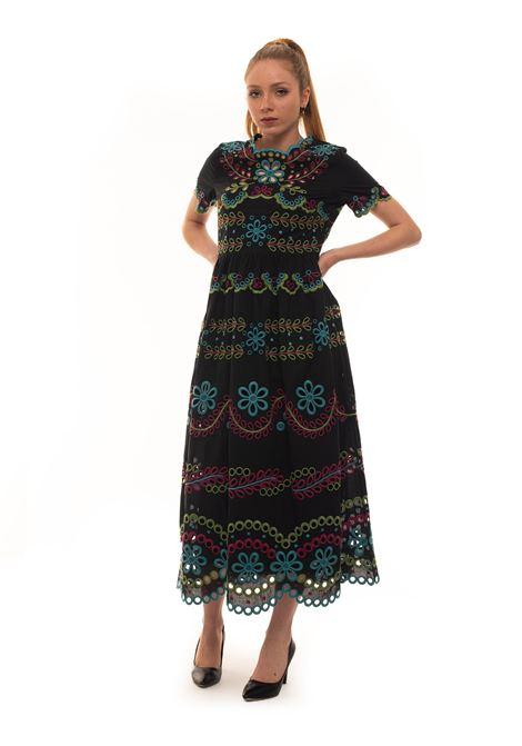 Short sleeve maxi dress Red Valentino | 130000002 | TR0VA12B-51EN78