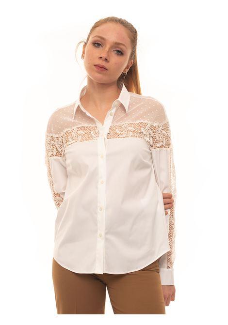 Camicia da donna in cotone Red Valentino | 6 | TR3ABC35-4S8001