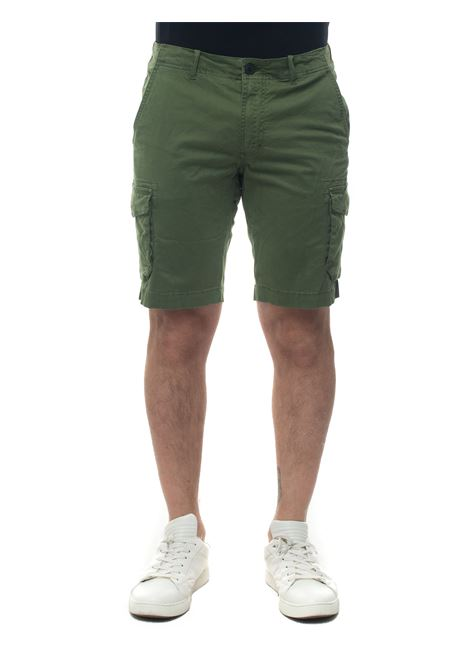 Bermuda with large pockets Refrigue | 5 | CARGOSHORT-R71022CTV1MDEEP ARMY GREEN