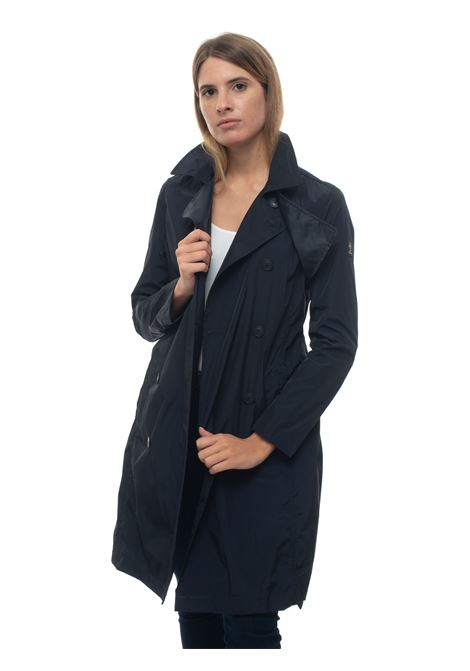 High-tech fabric dust coat Refrigue | 20 | VIPP-R69406AEV1WDARK BLUE