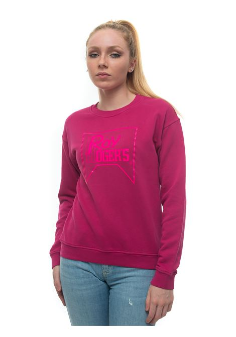 Sweatshirt Roy Rogers | 20000055 | CREW_NECK_WOMAN-SWEATERFUCSIA