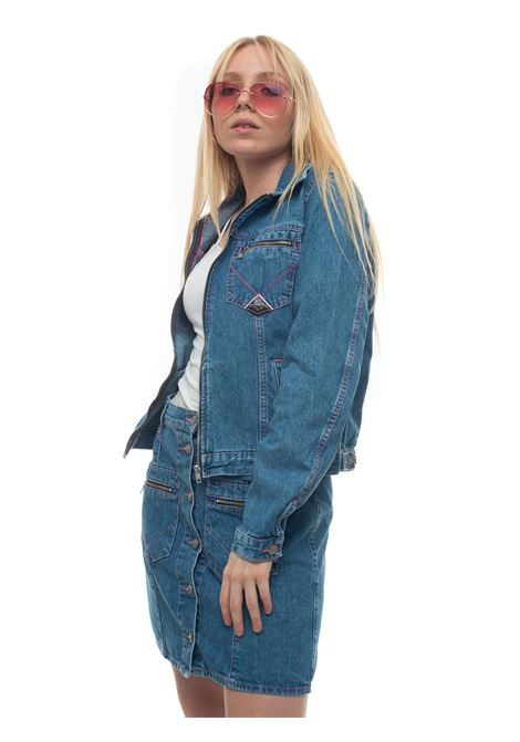 p- jeans zip imp rosa Roy Rogers | -276790253 | DENIM MEDIOSW
