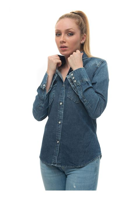 Denim blouse Roy Rogers | 6 | SHIRT_JOLI-DENIMEST