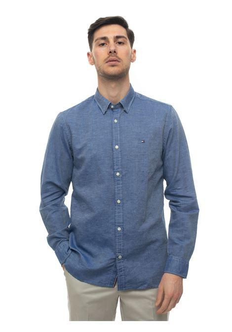 Long-sleeved linen shirt Tommy Hilfiger | 6 | MW0MW12761C7H