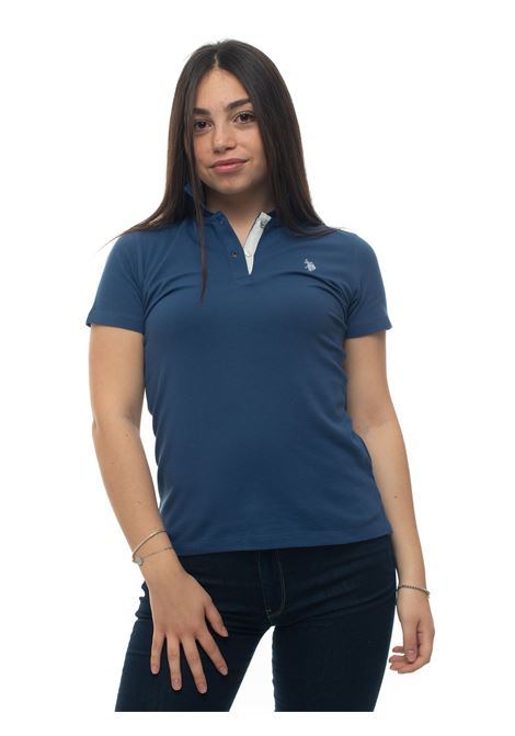 Short-sleeved polo shirt in piquè US Polo Assn | 2 | 55948-48439278