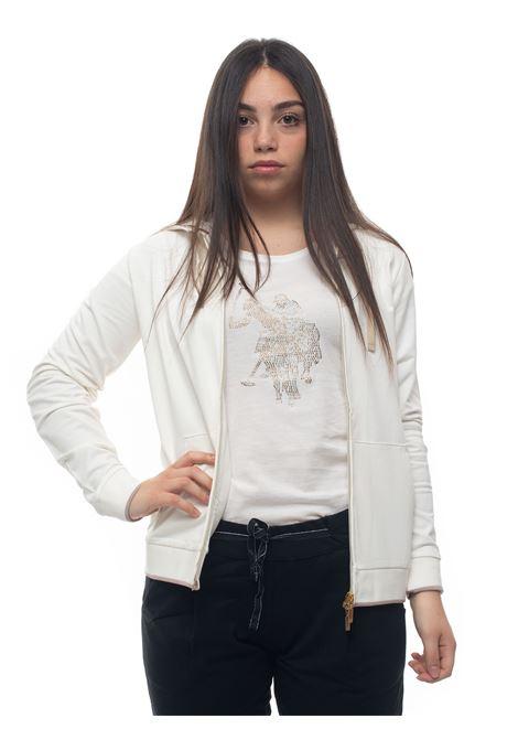 Sweatshirt with zip US Polo Assn | 20000055 | 55984-51478101