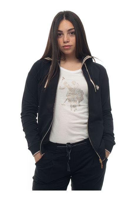 Sweatshirt with zip US Polo Assn | 20000055 | 55984-51478199