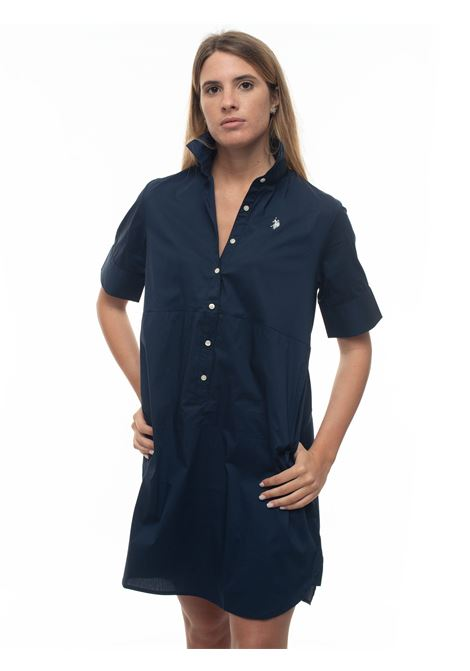 Cotton shirtwaister-dress US Polo Assn | 130000002 | 56249-51702179