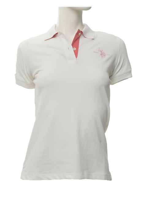 Short-sleeved polo shirt in piquè US Polo Assn | 2 | 56802-48439101