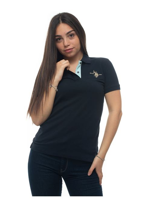 Short-sleeved polo shirt in piquè US Polo Assn | 2 | 56802-48439179