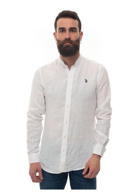 Long-sleeved linen shirt US Polo Assn | 6 | 58667-50816100