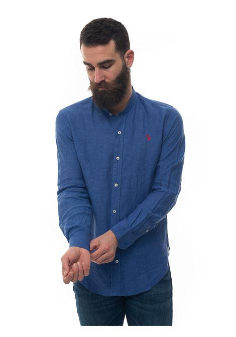 Long-sleeved linen shirt US Polo Assn | 6 | 58667-50816173