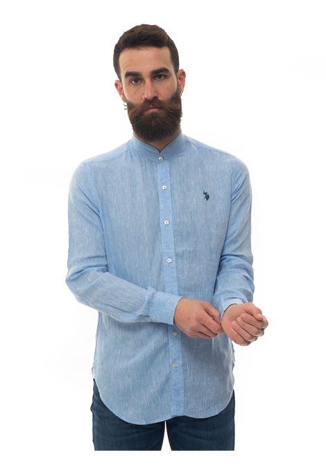 Long-sleeved linen shirt US Polo Assn | 6 | 58667-50816233