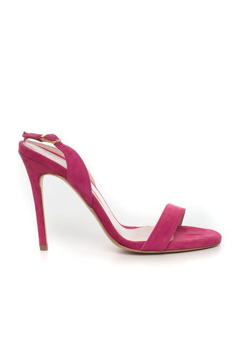 Leather strap sandals Vincenzo Piccolo | 20000009 | P12-CAMOSCIOFUCSIA
