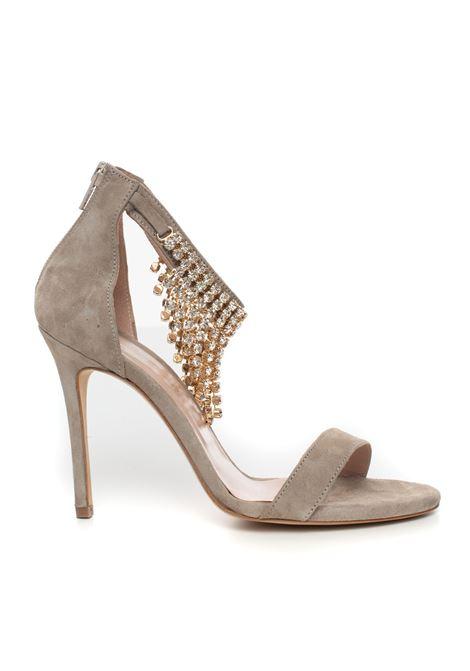Leather strap sandals Vincenzo Piccolo | 20000009 | P15-CAMOSCIOGRIGIO
