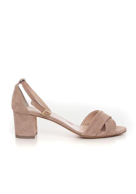 Sandalo con zeppa Vincenzo Piccolo | 20000009 | P20-CAMOSCIONUDE