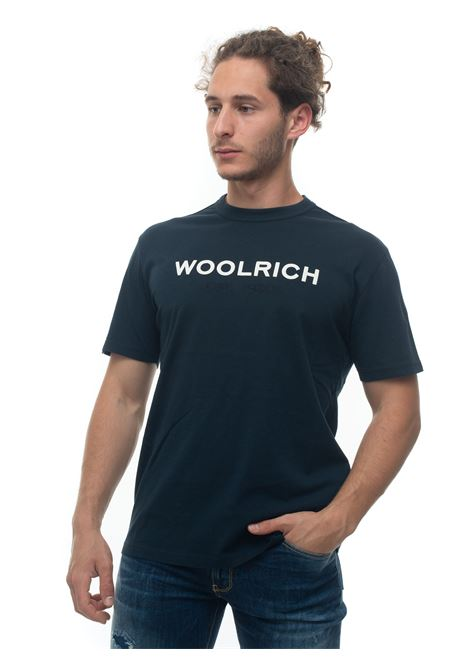 Short-sleeved round-necked T-shirt Woolrich | 8 | WOTE0024MR-UT14863989