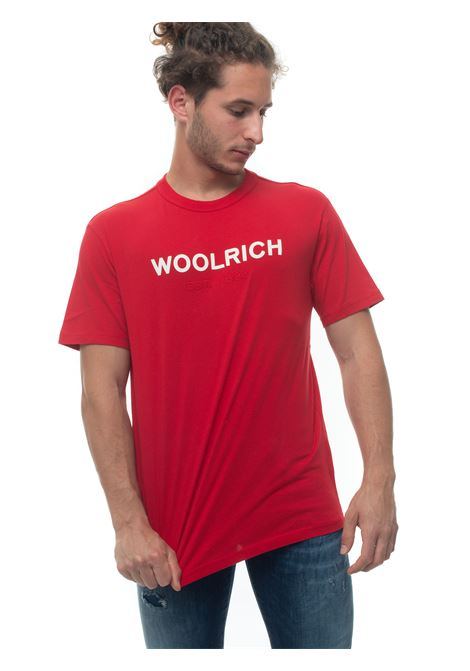 Short-sleeved round-necked T-shirt Woolrich | 8 | WOTE0024MR-UT14865405