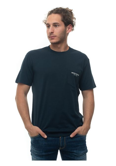 Short-sleeved round-necked T-shirt Woolrich | 8 | WOTE0037MR-UT14863989