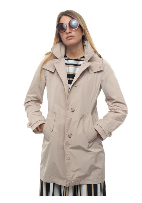 Charlotte coat high-tech fabric dust coat Woolrich | 20000057 | WWOU0217FR-UT05737234