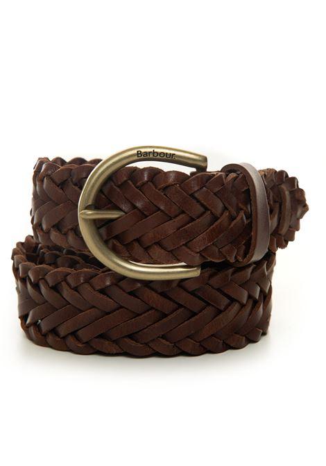 Cintura a treccia Barbour | 20000041 | MAC0381BR51