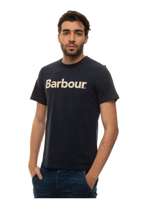 T-shirt girocollo mezza manica Barbour | 8 | MTS0531NY31