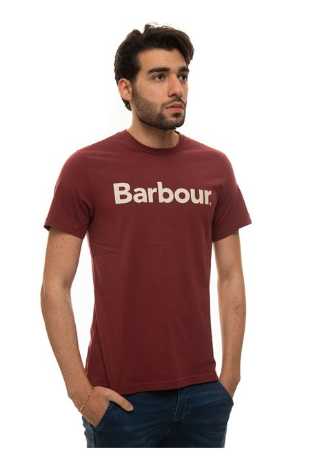 T-shirt girocollo mezza manica Barbour | 8 | MTS0531RE53