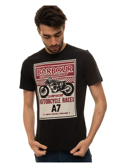 T-shirt with short sleeves and round-neck Barbour | 8 | MTS0833BK31