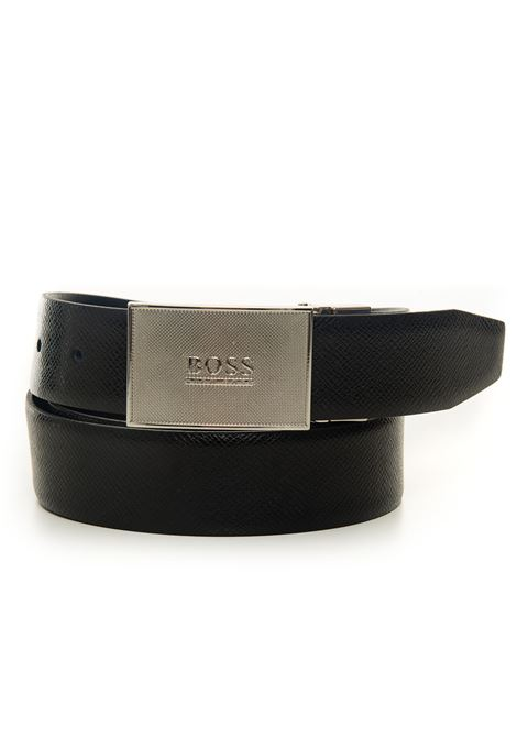 Buckle belt with logo detail BOSS | 20000041 | BOSS-ICON-OR35-50413028001