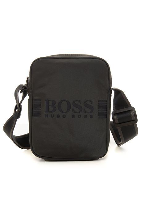 Borsello in tessuto logato BOSS | 20000001 | PIXEL_NS-50413044025