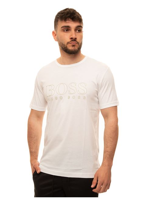 T-shirt with short sleeves BOSS | 8 | TEEGOLD3-50448702100