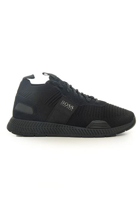Sneaker BOSS | 5032317 | TITANIUM-RUNN-KNST-50414734001