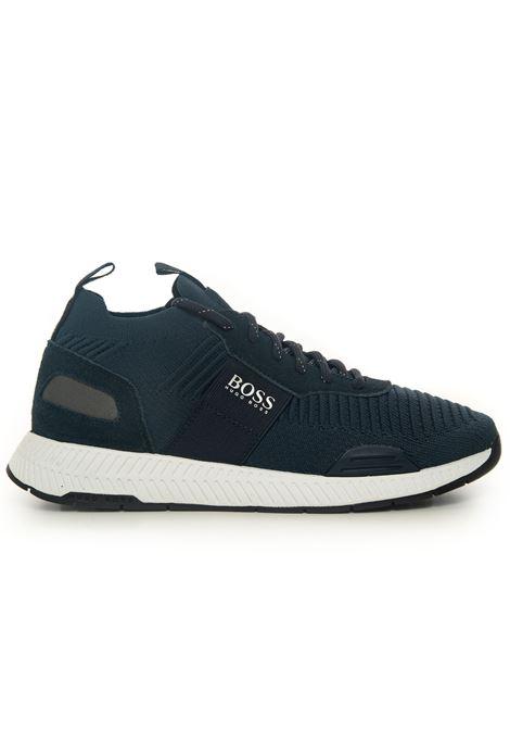 Sneaker BOSS | 5032317 | TITANIUM-RUNN-KNST1-50452034401