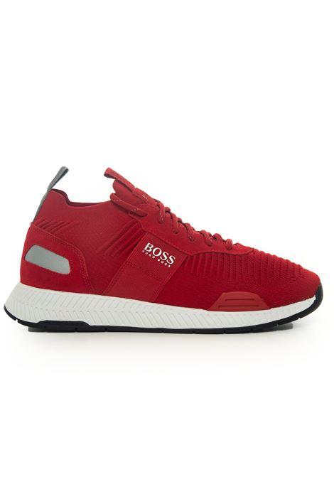 Sneaker BOSS | 5032317 | TITANIUM-RUNN-KNST1-50452034610