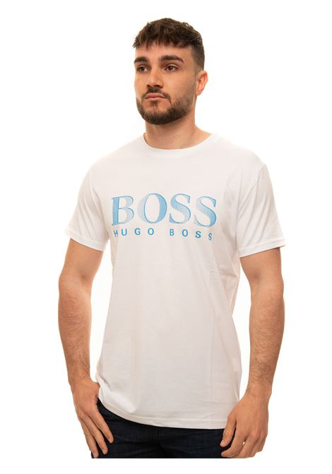 Short-sleeved round-necked T-shirt BOSS | 8 | T.SHIRT-RN-50407774105