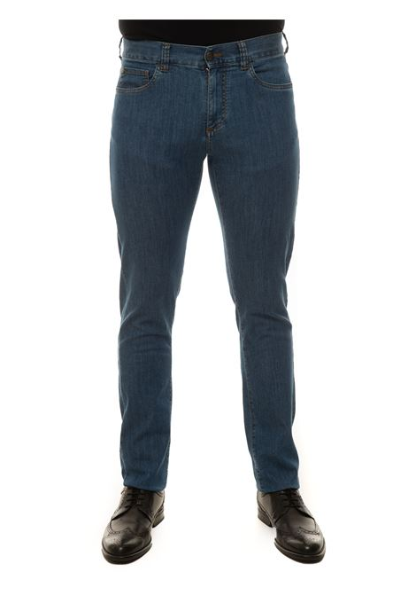 5 pocket denim Jeans Canali | 24 | 93720-PD00400302