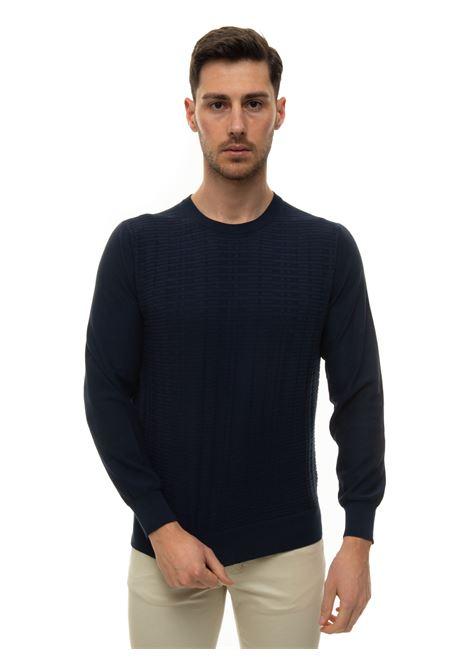 Round-necked pullover Canali | 7 | C0012-MK01131300