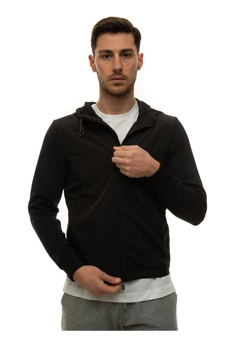 Zip sweatshirt with hood Canali | 20000055 | T0685-MY01206100