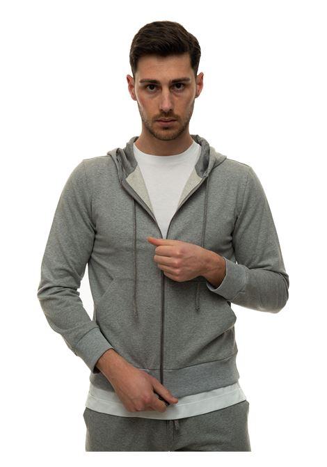 Zip sweatshirt with hood Canali | 20000055 | T0687-MJ01036210
