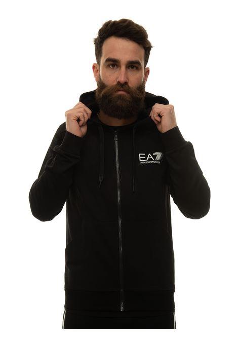 Sweatshirt with zip EA7 | 20000055 | 3KPM68-PJ05Z1200