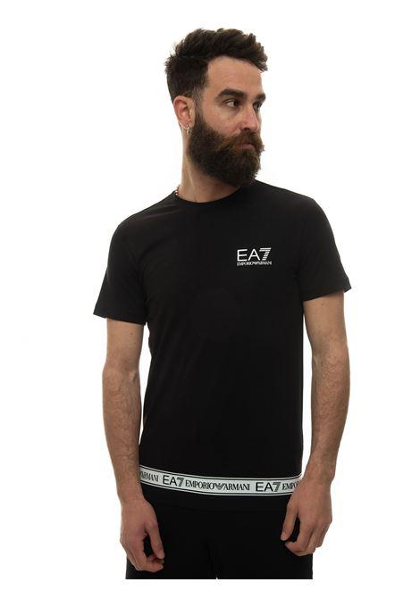 T-shirt girocollo EA7 | 8 | 3KPT05-PJ03Z1200